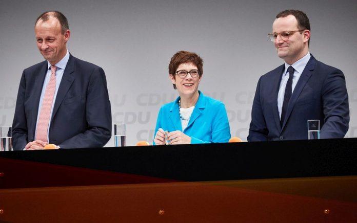 Σήμερα εκλέγεται ο νέος αρχηγός του CDU