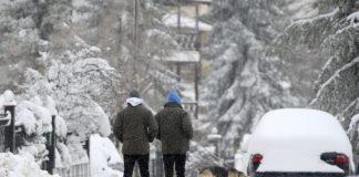 Ψυχρό κύμα με κρύο και χιόνια από το βράδυ της Δευτέρας