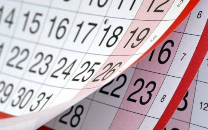 Οι ημερομηνίες των αργιών του 2019 - Δείτε αναλυτικά