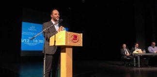 Εκδήλωση του υποψήφιου δημάρχου Καλαμαριάς Γ. Δαρδαμανέλη για ζητήματα Πολιτικής Προστασίας