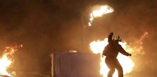Τραυματίας αστυνομικός από επεισόδια στο κέντρο της Αθήνας