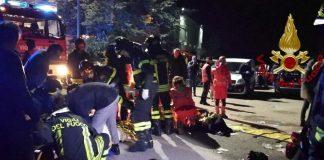 Σοκαριστικό video: Η στιγμή της τραγωδίας στο κλαμπ στην Ιταλία (vd)