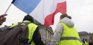 Γαλλία: Μειώνεται η συμμετοχή στις κινητοποιήσεις των «Κίτρινων Γιλέκων»