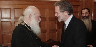 Με τον Αρχιεπίσκοπο Ιερώνυμο συναντήθηκε ο Παύλος Γερουλάνος