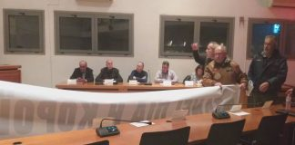Ένταση στο δημοτικό συμβούλιο Κορδελιού – Ευόσμου (pics & vd)