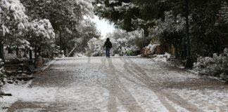 Θεσσαλονίκη: Κλειστοί δρόμοι λόγω παγετού