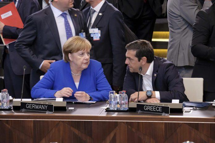Οι γερμανικές επανορθώσεις στην ατζέντα θα θέσει ο Τσίπρας στη Μέρκελ