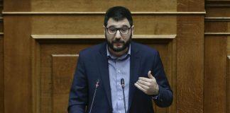 Ηλιόπουλος: «Ούτε βήμα μπροστά, χωρίς τη στήριξη των εργαζόμενων»