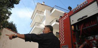 Πυρκαγιά σε μονοκατοικία στην Κυψέλη - Νεκρός ένας ηλικιωμένος