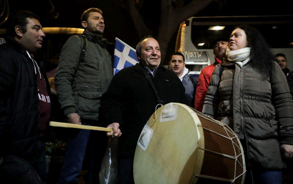 Μαζική κάθοδος στην Αθήνα για το συλλαλητήριο (pics)