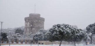 Ωκεανίς: Χιόνια στη Θεσσαλονίκη, όχι στην Αθήνα (vd)