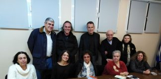 Επίσκεψη Βούγια στην Α' Δημοτική Κοινότητα