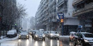 Βροχές και καταιγίδες τη Δευτέρα - Χιόνια στα ορεινά