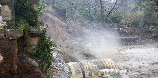 Χανιά: Κατέρρευσε γέφυρα στην περιοχή του Πλατανιά