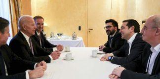 Μακρά συζήτηση Τσίπρα-Μπάιντεν, πιθανού υποψήφιου προέδρου των ΗΠΑ