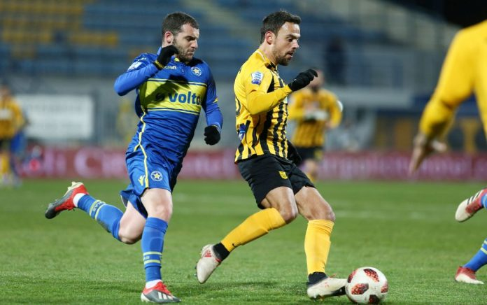 Super League: «Σφράγισε» ευρωπαϊκό εισιτήριο στην Τρίπολη ο Άρης!