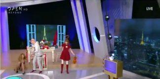 Η επική τούμπα της Γιουσέφ στην εκπομπή του Μουτσινά! (vd)