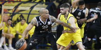 Μπάσκετ: Ο ΠΑΟΚ πήρε το ντέρμπι της Θεσσαλονίκης