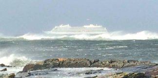 Ακυβέρνητο κρουαζιερόπλοιο στη Νορβηγία