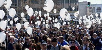 Πορεία μνήμης για τα θύματα του Ολοκαυτώματος στη Θεσσαλονίκη