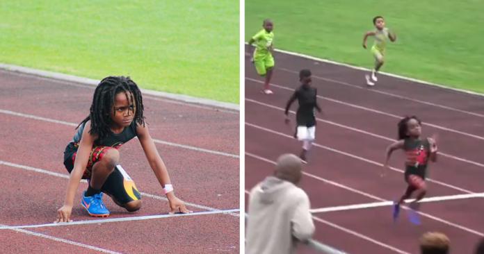Το παιδί-θαύμα στο τρέξιμο που στα επτά του θυμίζει Μπολτ! (vid)