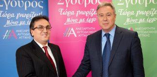 Στο ψηφοδέλτιο Σγουρού ο γιατρός Σπύρος Αδαμόπουλος