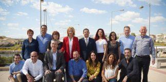 Οι υποψήφιοι με τη Δούρου σε Νότιο Τομέα Αθηνών, Πειραιά και Νήσων