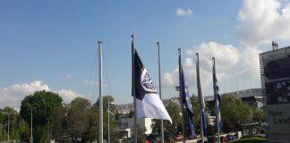 Η σημαία του ΠΑΟΚ κυματίζει στο δημαρχείο Θεσσαλονίκης! (pic)