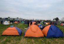 Φωτιά σε κέντρο φιλοξενίας προσφύγων στη Λαμία