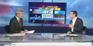 Μπήκε στο Top 20 με Τσίπρα το δελτίο ειδήσεων του ΑΝΤ1