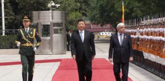 Επίσκεψη και θερμή υποδοχή Παυλόπουλου στην Κίνα