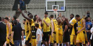 Μπάσκετ: Στα ημιτελικά η ΑΕΚ, παίζει με Προμηθέα