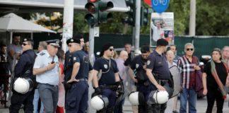 Έξι συλλήψεις διαδηλωτών πριν την ομιλία του Αλ. Τσίπρα στη Θεσσαλονίκη