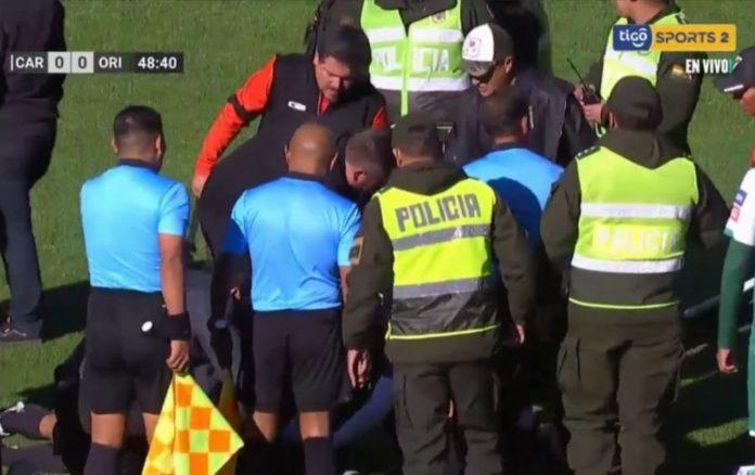 Τραγωδία στη Βολιβία: Διαιτητής πέθανε την ώρα του αγώνα! (vd)