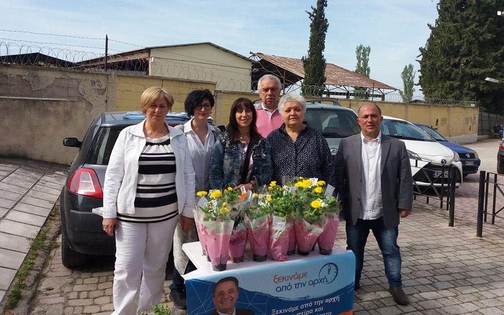 Ο Γ. Καμαρινός τίμησε τη γιορτή της μητέρας