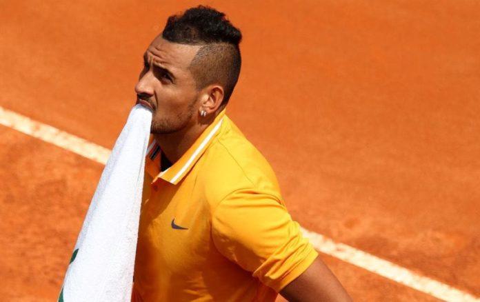 Τένις: Έξαλλος ο Κύργιος, πέταξε καρέκλα και έφυγε! (vd)