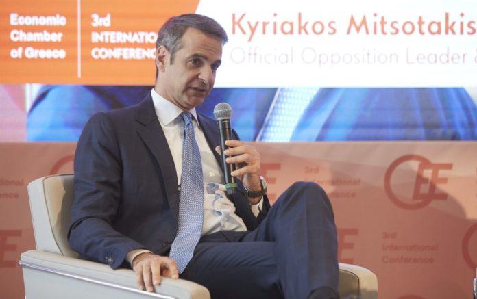 Μητσοτάκης: «Μείωση φόρων από το 2020»
