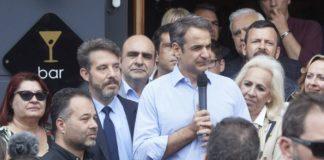 Μητσοτάκης: «Είμαστε η παράταξη που έβαλε την Ελλάδα στην Ευρώπη»