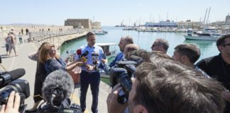 Κ. Μητσοτάκης από την Κρήτη:Εγώ θα επιμένω να ενώνω και να μιλάω για το μέλλον