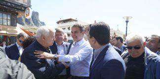 Ολοκλήρωση προεκλογικής εκστρατείας Μητσοτάκη στη Μακεδονία