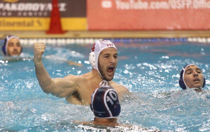 Πόλο: «Ερυθρόλευκο» ξέσπασμα, 2-1 το ΝΟΒ ο Ολυμπιακός