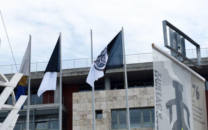 Κατέβασαν τις σημαίες του ΠΑΟΚ από το δημαρχείο Θεσσαλονίκης! (pic)