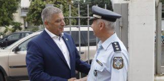Πατούλης: «Βασική προτεραιότητα η ασφάλεια των πολιτών»