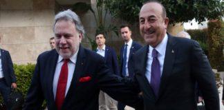 Συνάντηση Κατρούγκαλου - Τσαβούσογλου με φόντο την κυπριακή ΑΟΖ