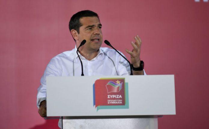 Τσίπρας: «Η ψήφος στη ΝΔ είναι ψήφος στον Βέμπερ»