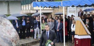 Στις εκδηλώσεις μνήμης του Ολοκαυτώματος της Νάουσας ο Απ. Τζιτζικώστας
