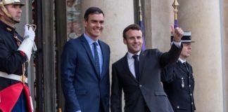 Συνάντηση Μακρόν-Σάντσεθ στο Παρίσι
