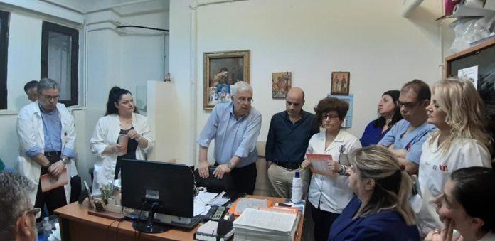 Επίσκεψη σε δημόσιες υπηρεσίες από τον Στράτο Σιμόπουλο