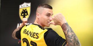Επίσημα στην ΑΕΚ ο Βράνιες- Πήρε την φανέλα με το νούμερο «21»