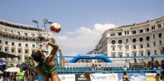 Σε γήπεδο Beach Volley μετατρέπεται η Πλατεία Αριστοτέλους